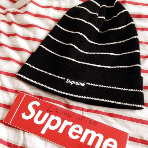 239439a9544 Supreme beanie brand new ignore tags  norse projects acne Oi - Depop