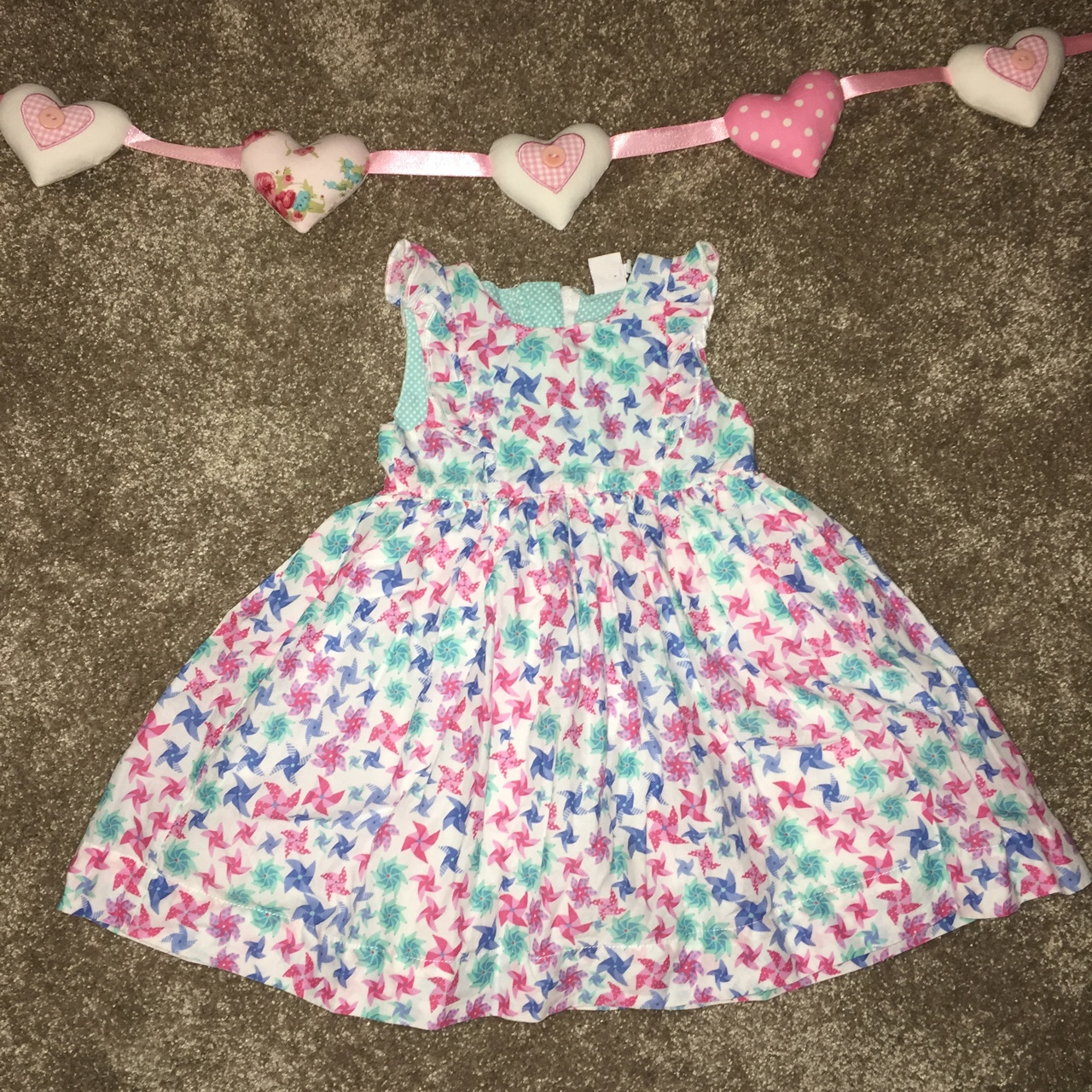 acf511ab0 Gorgeous boots mini club baby girls party dress age... - Depop