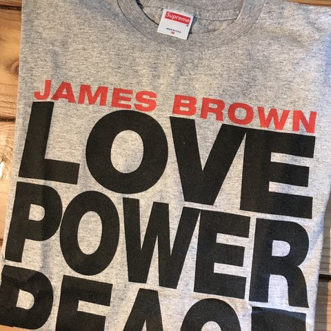 62e4b7c2a402 Supreme James Brown Tshirt OG medium Good condition 100% - Depop