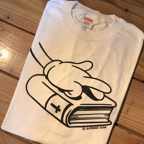 93a01ee69b4b Bible tshirt OG Large Good condition 100% authentic  kaws - Depop