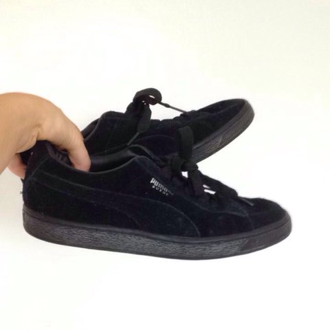 release date: b3448 2a06e  darrylscholes. 2 years ago. Exmouth, United Kingdom. Puma suede all black shoes  trainers ...