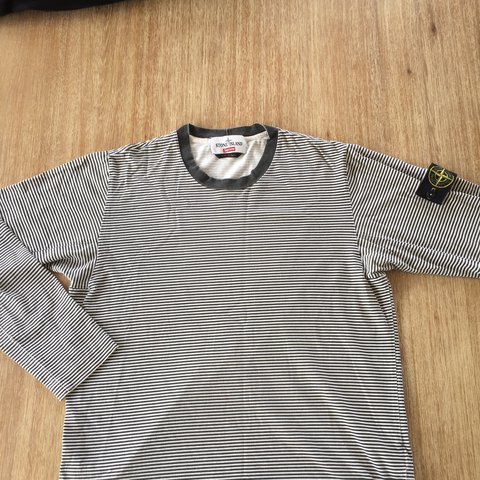 7a1ff25af9 @kemoak. 2 years ago. Auckland, New Zealand. Stone island supreme striped long  sleeve ...