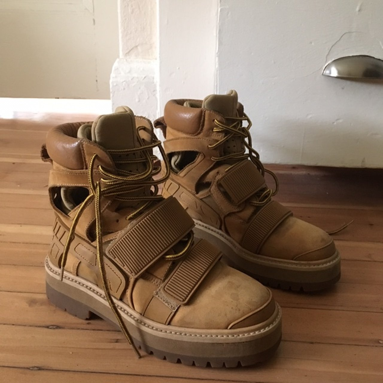 Hba X Forfex Avalanche Boots In Tan Color Size 37 These So Depop