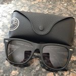 7af48a1216d4 Ray Ban leopard print sunglasses In okay condition with on - Depop