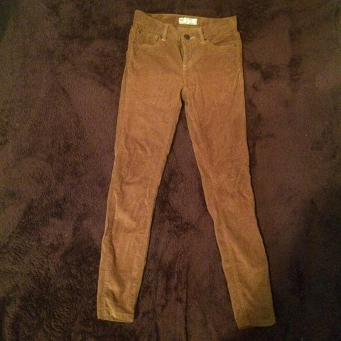 ebc2e303c7 Free people high rise corduroy jeans in the color camel not - Depop