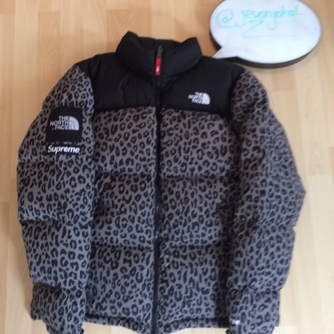 249ec9ae1d6b ... discount code for supreme x the north face grey leopard nuptse jacket.  size depop ae488