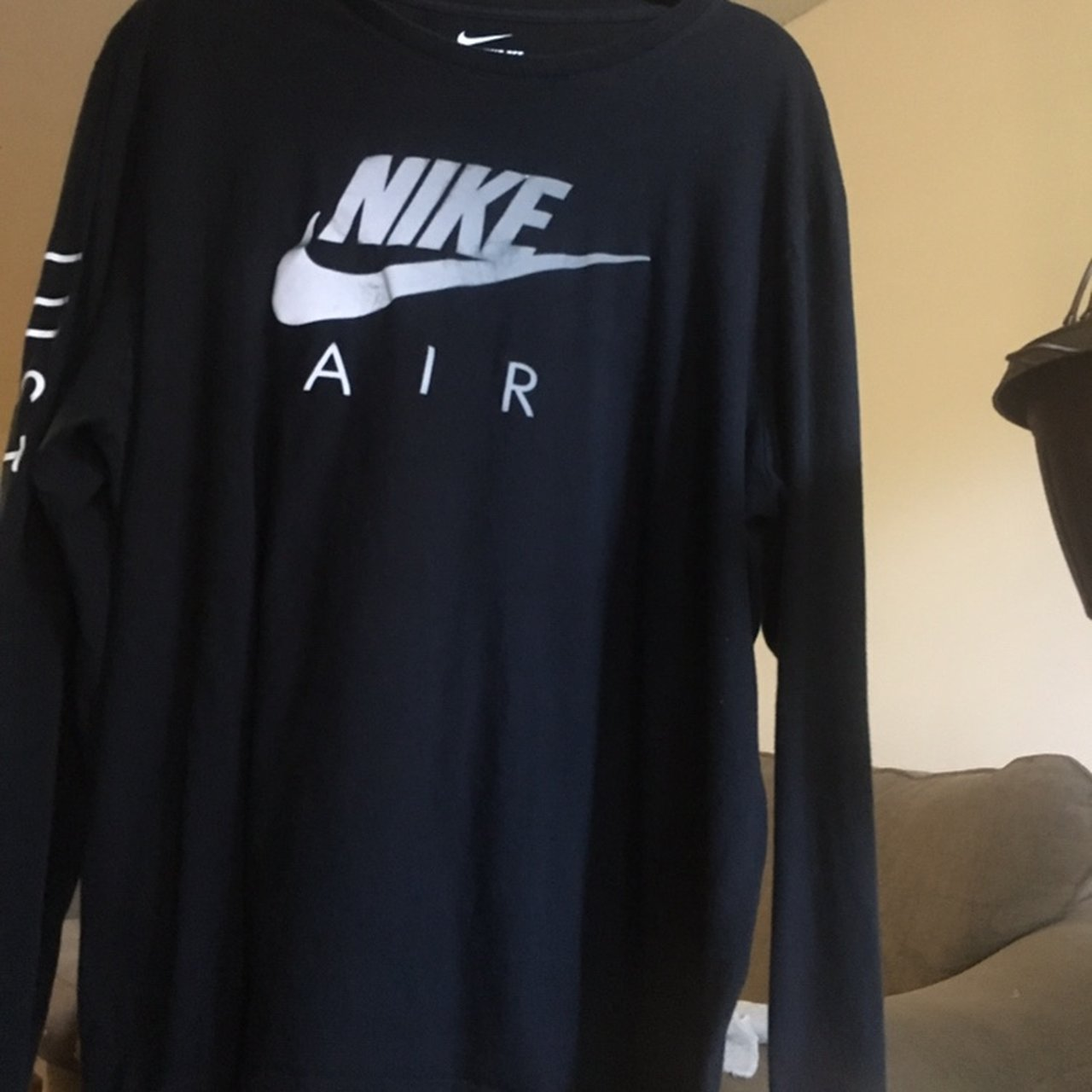 "6b8e0fdc @tyannal. 5 months ago. Columbus, United States. ON HOLD Reflective Nike ""Just  Do It"" long sleeve T-shirt "" ..."
