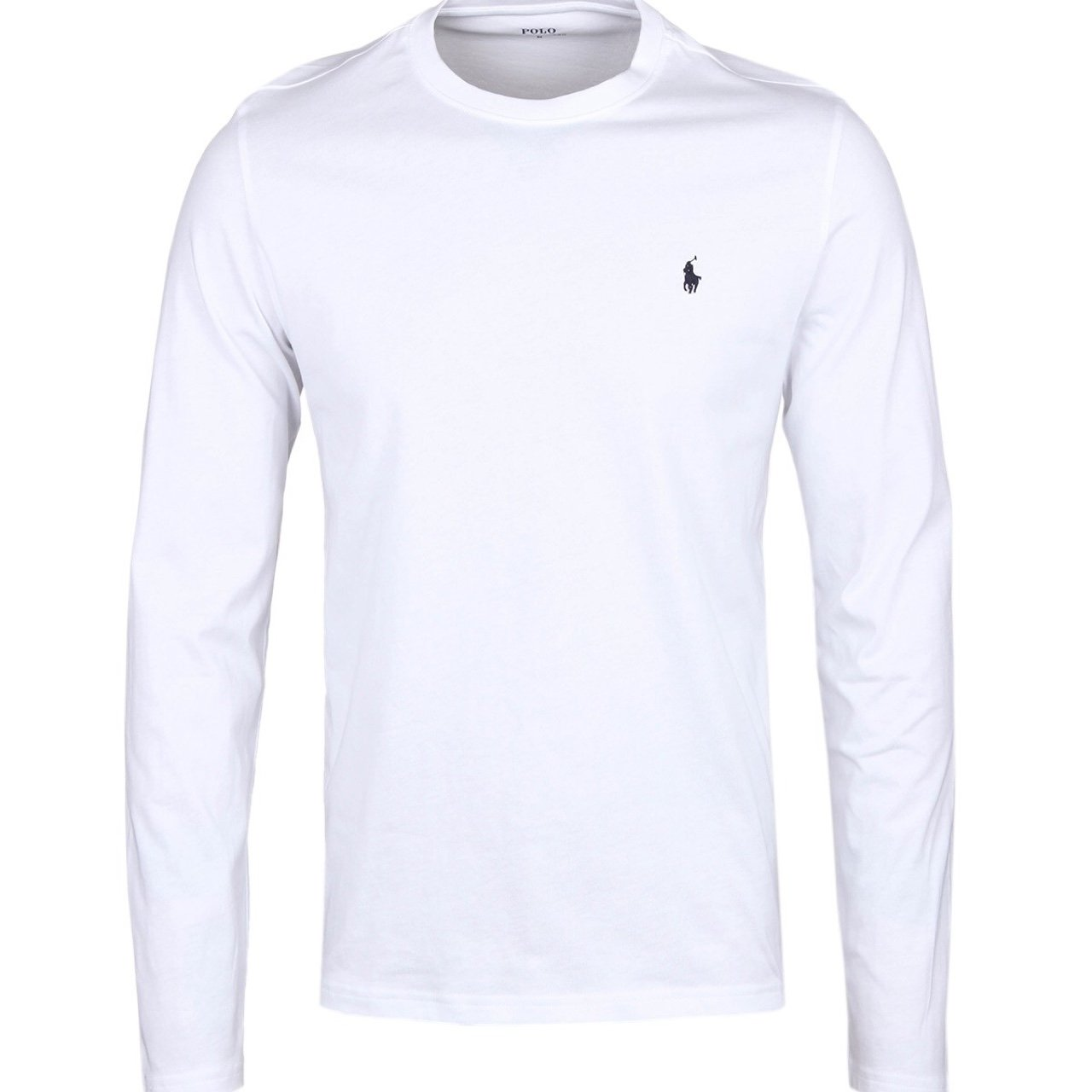 7251ef48 @toby7white. 3 years ago. Oxford, UK. Authentic Polo by Ralph Lauren Long  sleeve Tee in White ...