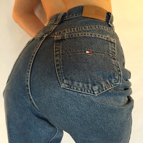 9846cd0e Amazing Vintage High Waisted Tommy Hilfiger Jeans. These are - Depop