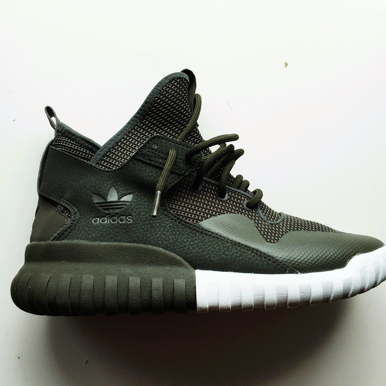 Adidas Tubular X olive green comes without a box have been a - Depop 81c62194d9f0