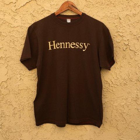 76636e904 90's Hennessy Promo Tee Sz. Large - Great vintage condition, - Depop