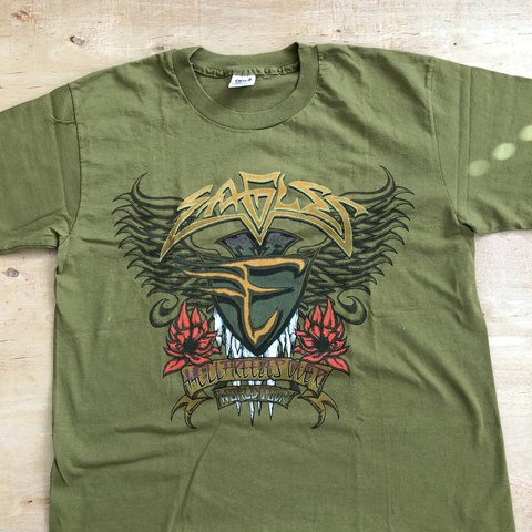 "10092d51 @wrfr. last year. United States. Vintage 90's Eagles ""Hell Freezes Over"" 1994  World Tour Tee ..."