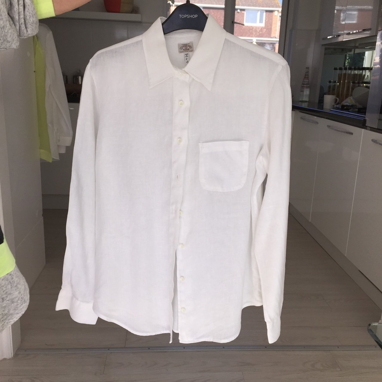 Out Linen Works A Jeans Armani 12 In About Depop Shirt Which 40 Hn8c5qW