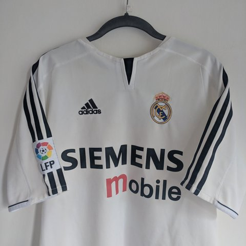 fdd56c53e ✓Authentic 2003 4 Real Madrid home shirt ✓ England legend 23 - Depop