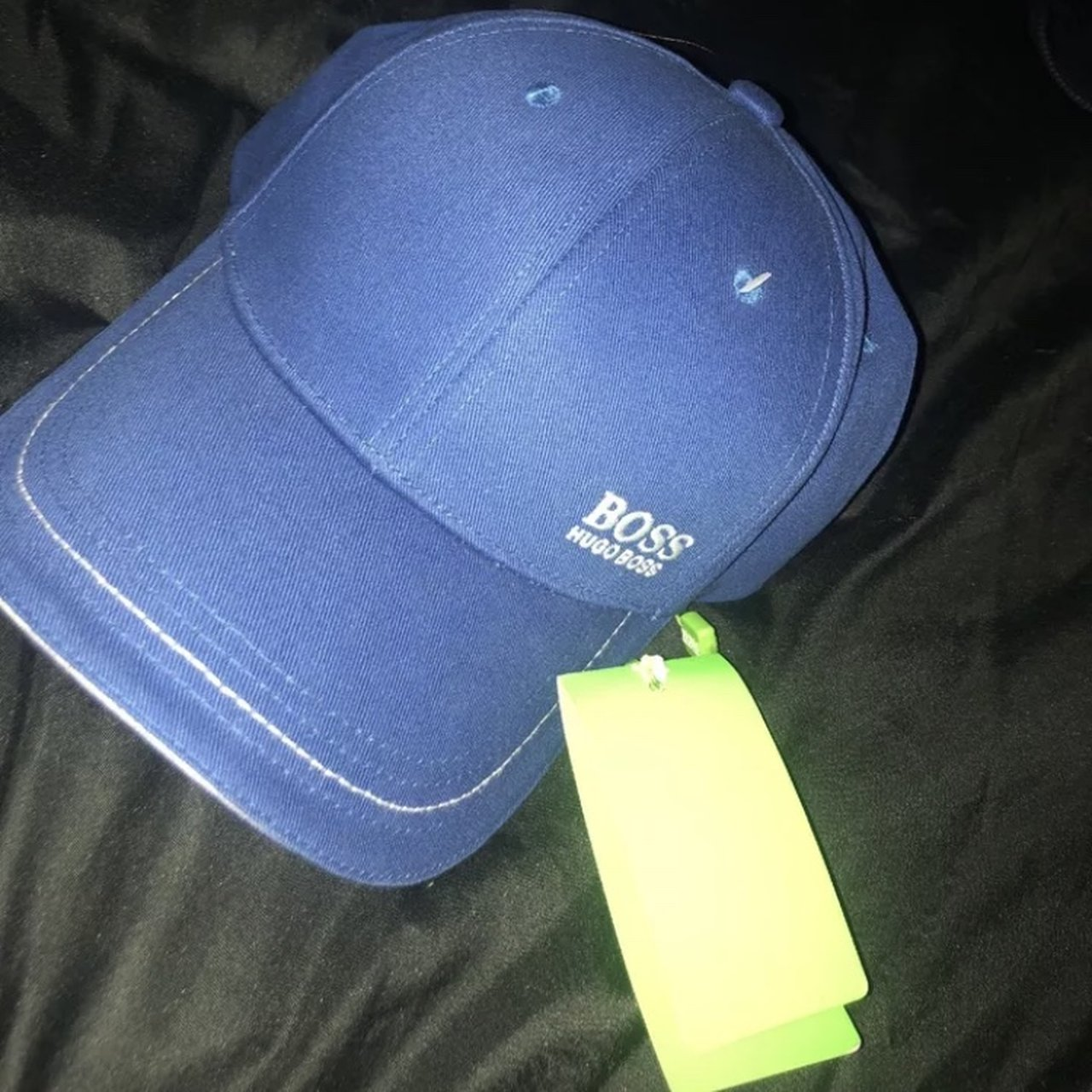 d8d9e91a59b Hugo boss cap One size fits all Never worn with tags Open to - Depop