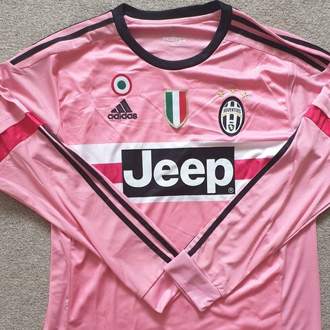 6e54b4ac39c PINK JUVENTUS LONG SLEEVE SHIRT WITH SHORTS BNWT Available - Depop