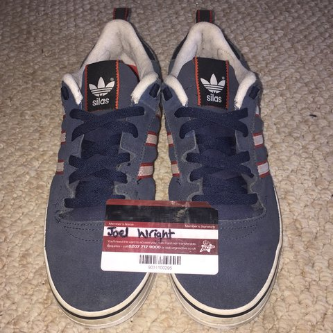 dc4115f167 Blue Adidas Silas Skate Shoes 👟🔵 Fit true to size
