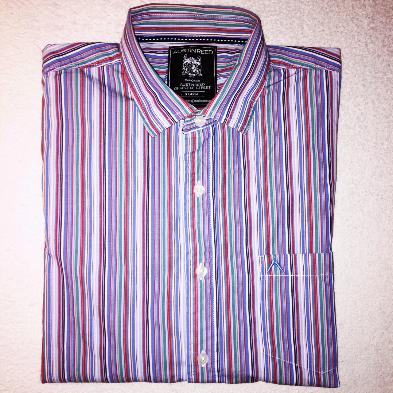 Austin Reed Xl Shirt Button Sleeve Shirt Depop