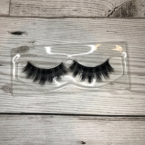 3aa9a1f56cd CL04 False Eyelashes ✖ 1x Pair of Faux Mink Lashes ✖ new - Depop