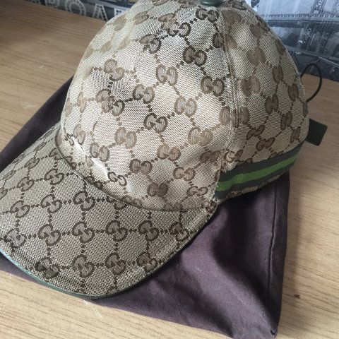 20fc1751e4f Rare green band Limited Edition Gucci cap