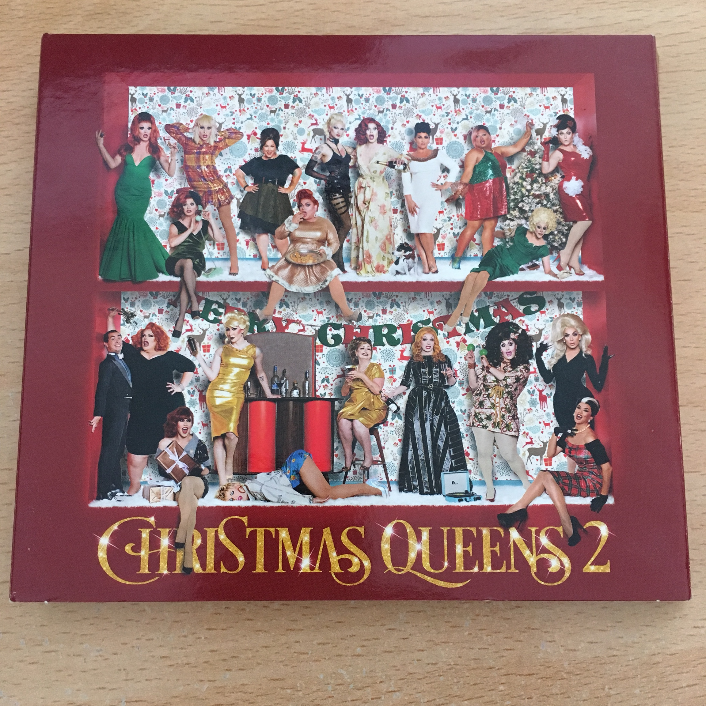 Christmas Queens.Christmas Queens 2 Album Including Performers Such