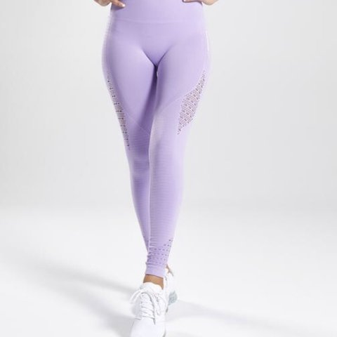 e1851a8467d8a @jasminesimpkiss. 8 days ago. Basingstoke, United Kingdom. GYMSHARK leggings  lilac seamless high waist energy purple. WORN TWICE PERFECT CONDITION Size  XS