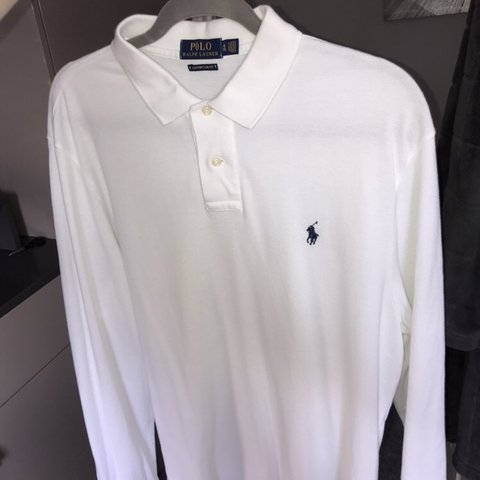 ee835883 @kettsyboi. 8 months ago. Great Yarmouth, United Kingdom. Ralph Lauren long  sleeve polo shirt, custom slim fit ...