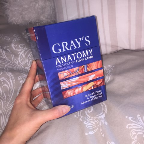 Grays Anatomy Flash Cards Brand New And Unused So Useful I Depop