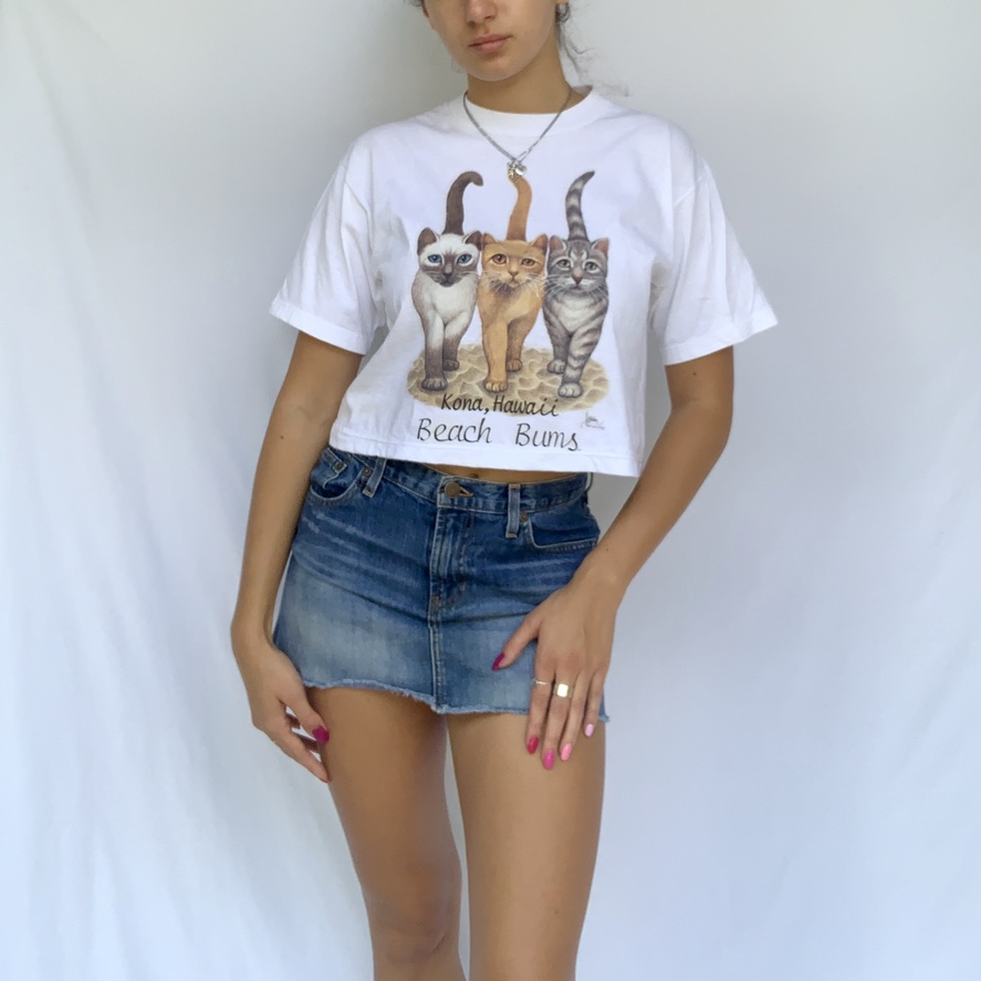 Cute ass vintage Kona Hawaii tourist tee