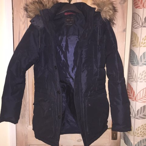 74c04084 @ellienorris1. 3 months ago. Southport, United Kingdom. Furr hood Zara  Parka coat! Size Medium! Really thick and nice warm material. Been worn  about twice.