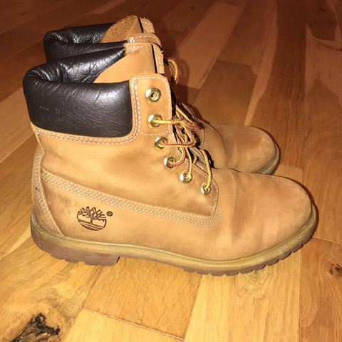 6f8bc705 TIMBERLAND BOOTS. Good condition size 7. Loads of wear left - Depop