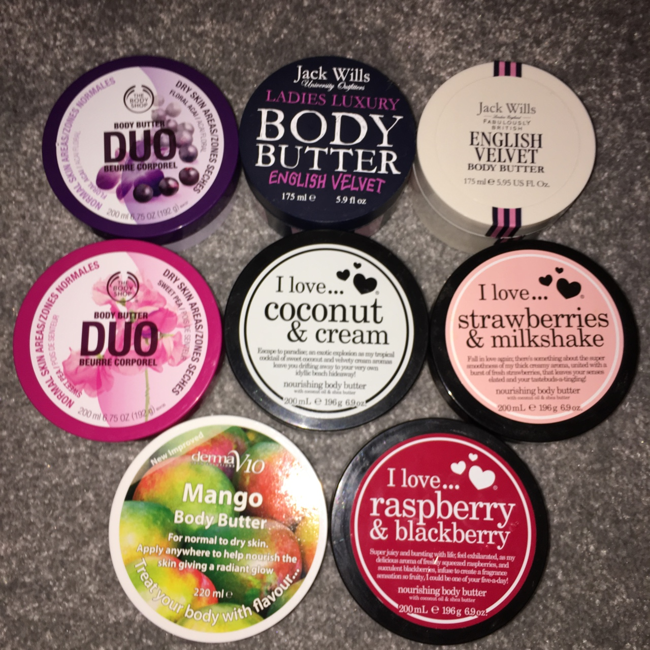 The body shop (sweet pea)&(floral acai) Jack wills    - Depop
