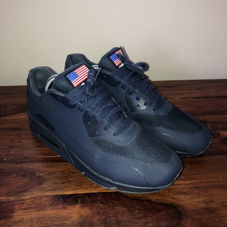 Nike Air Max 90 Hyperfuse Independence Day Blue