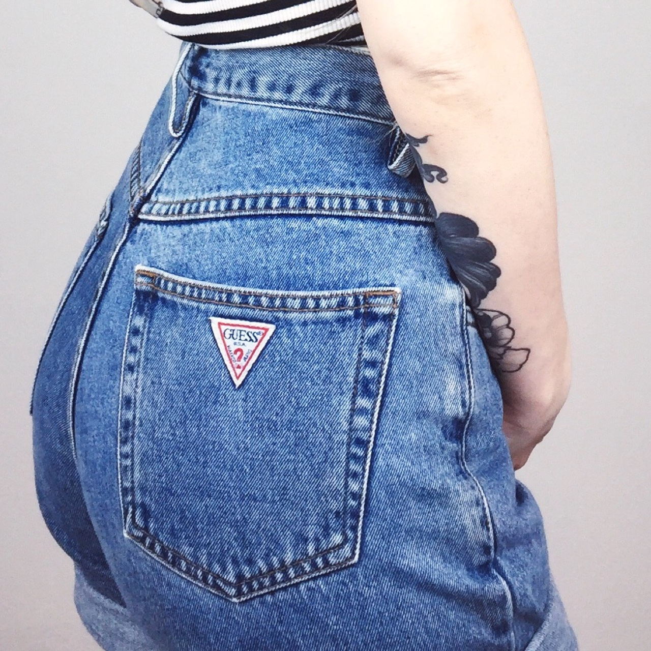 quality design 33284 f52e3 PERFECT FIT! Vintage Guess Jeans high waisted denim ...