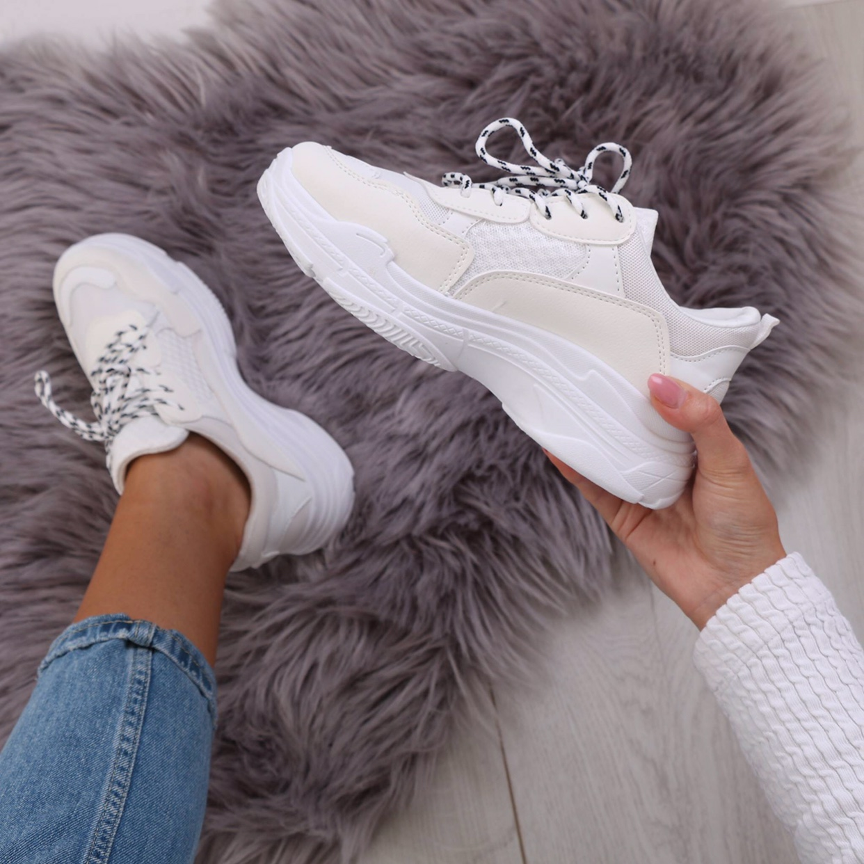 Public Desire FIYAH chunky thick sole