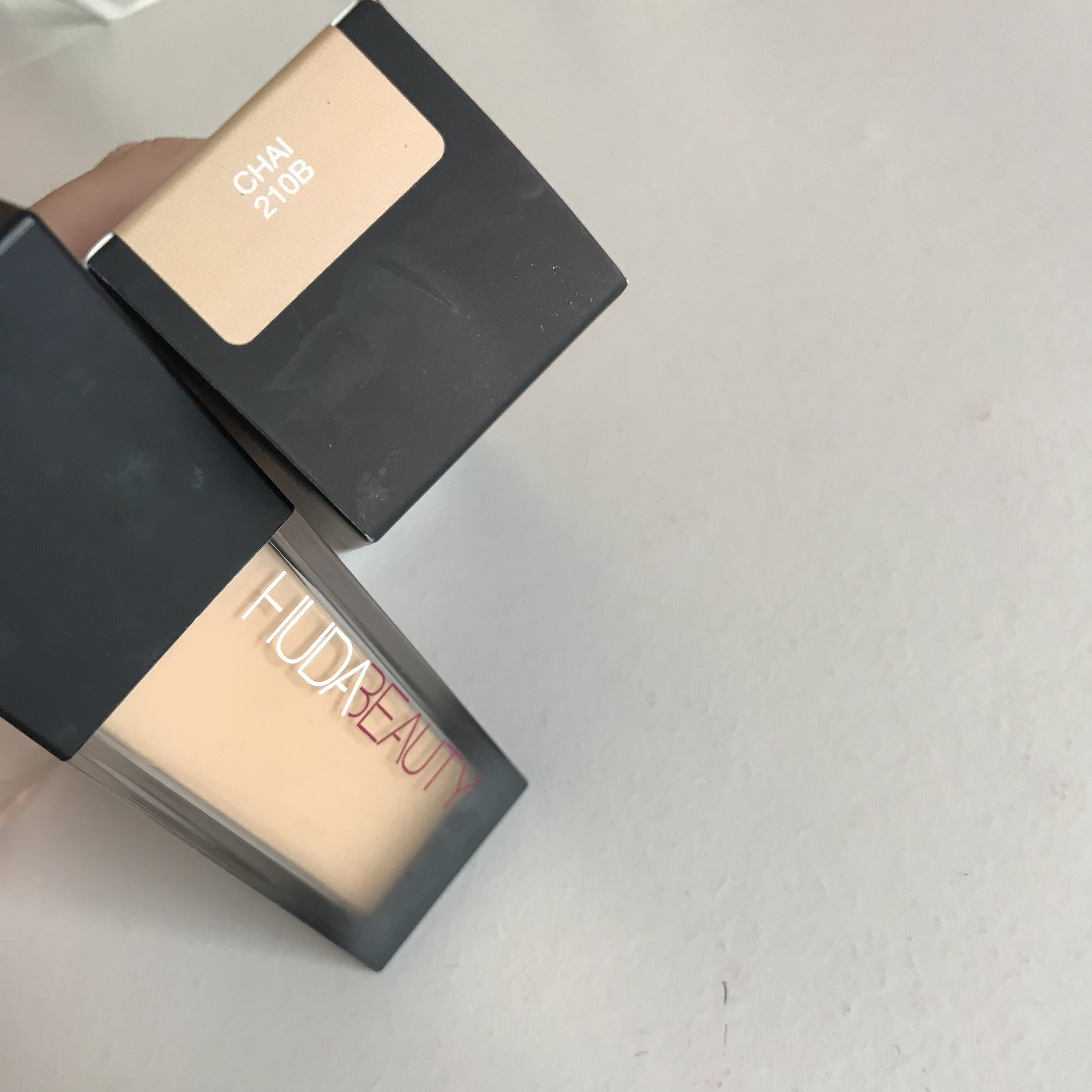 Huda Beauty Fauxfilter Foundation In Shade Chai Depop
