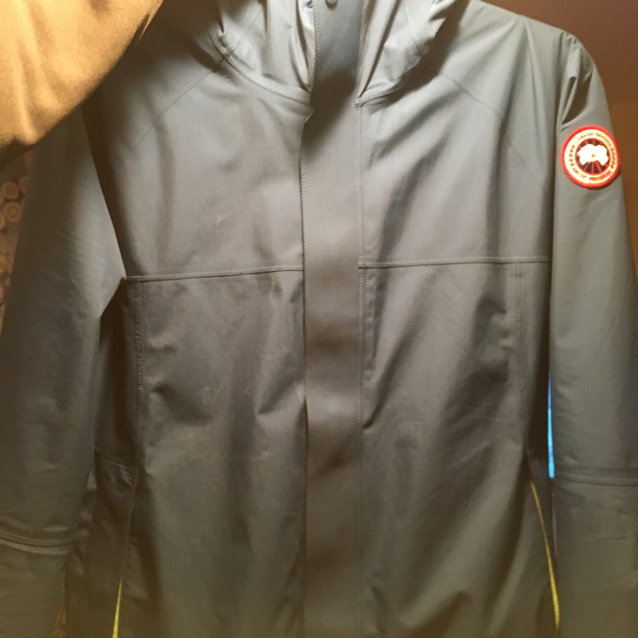 clear-cut texture new photos hot-selling newest Men's Small Canada Goose Waterproof Jacket.... - Depop