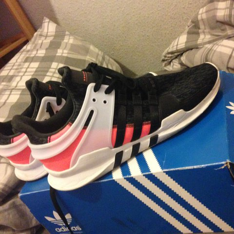 c89f1fa09 Adidas EQT Support AD size uk 12. Bought from JD like 3 ago. - Depop