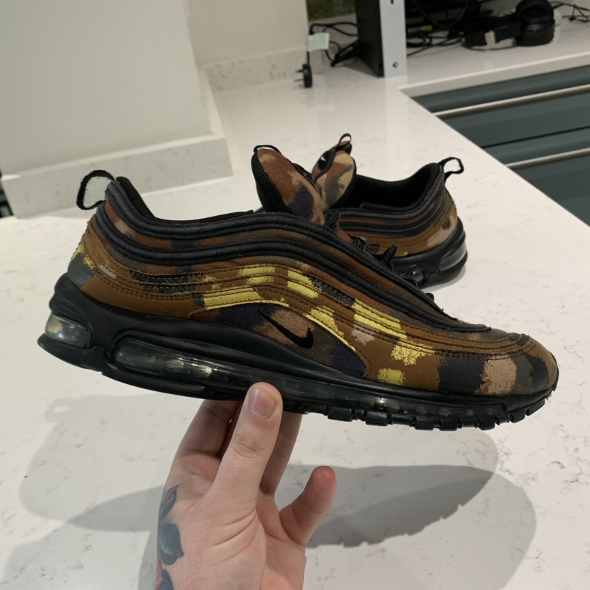 NIKE AIR MAX 97 COUNTRY CAMO PACK ITALY UK SIZE Depop