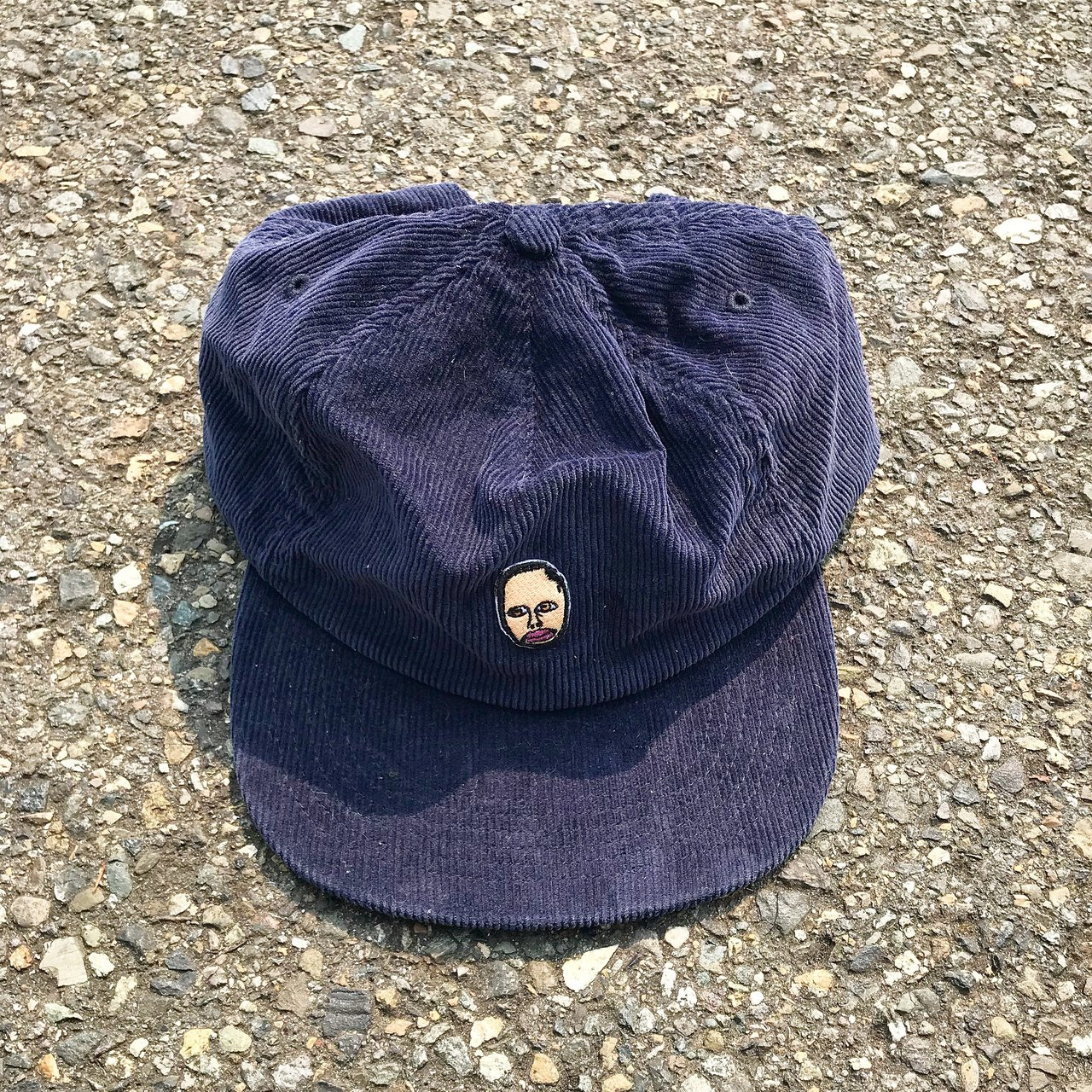 Earl Sweatshirt Corduroy Snapback Hat The graphic is on 4a0bb6fb723