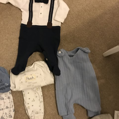 a4ca7a6d1 @shanjol. last year. Northwich, United Kingdom. Bundles of baby clothes. Tiny  baby, newborn and first size.