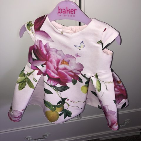 cb2d7d000 Ted baker dress 0-3 Worn but in perfect condition Baby a and - Depop
