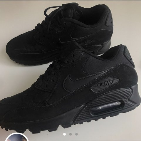 purchase cheap edc32 fe20a  alicecain. last year. Sheffield, United Kingdom. Black Nike Air Max 90  essential suede triple ...