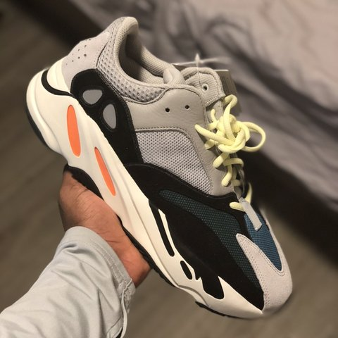 13d0d442f6b99 SOLD adidas Yeezy Boost 700 Wave Runner  Solid Grey  Size UK - Depop