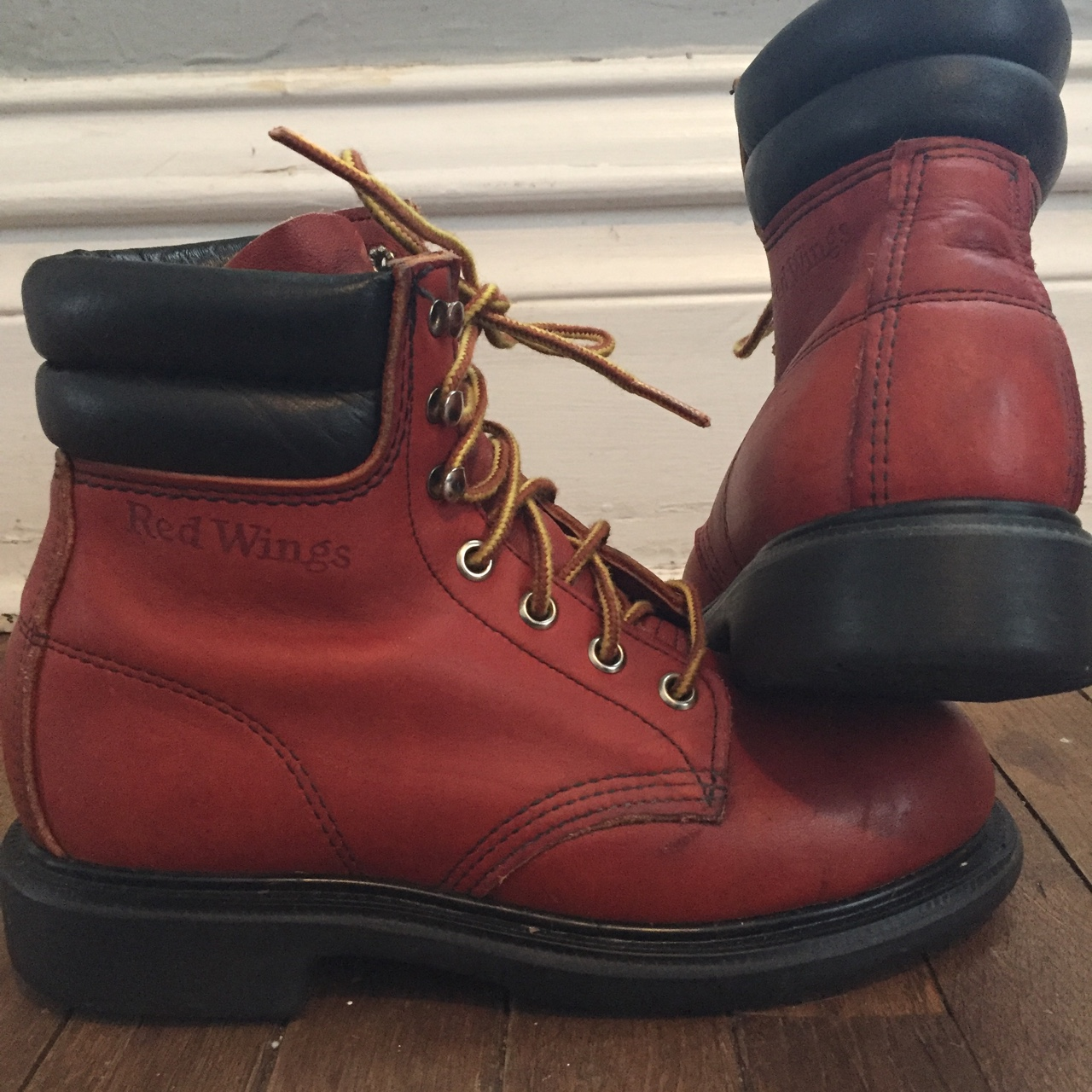 Vintage Red Wing boots! These babies