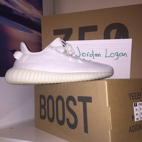 1cb98e9e7a8 ADIDAS YEEZY BOOST 350v2 Cream White UK10.5 ❌ Sold on eBay - Depop