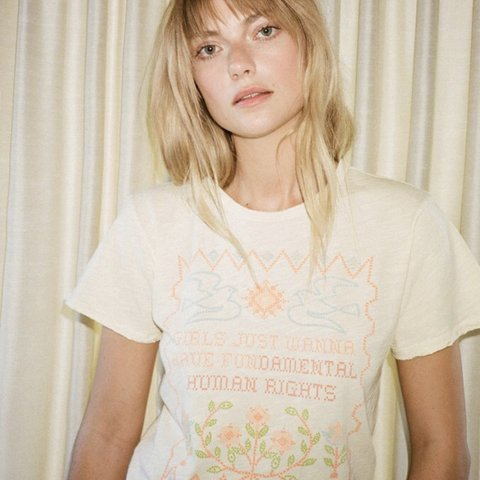 78610d493d @lovestoner. 3 months ago. Los Angeles, United States. Stoned Immaculate  Feminist tee in pale yellow.