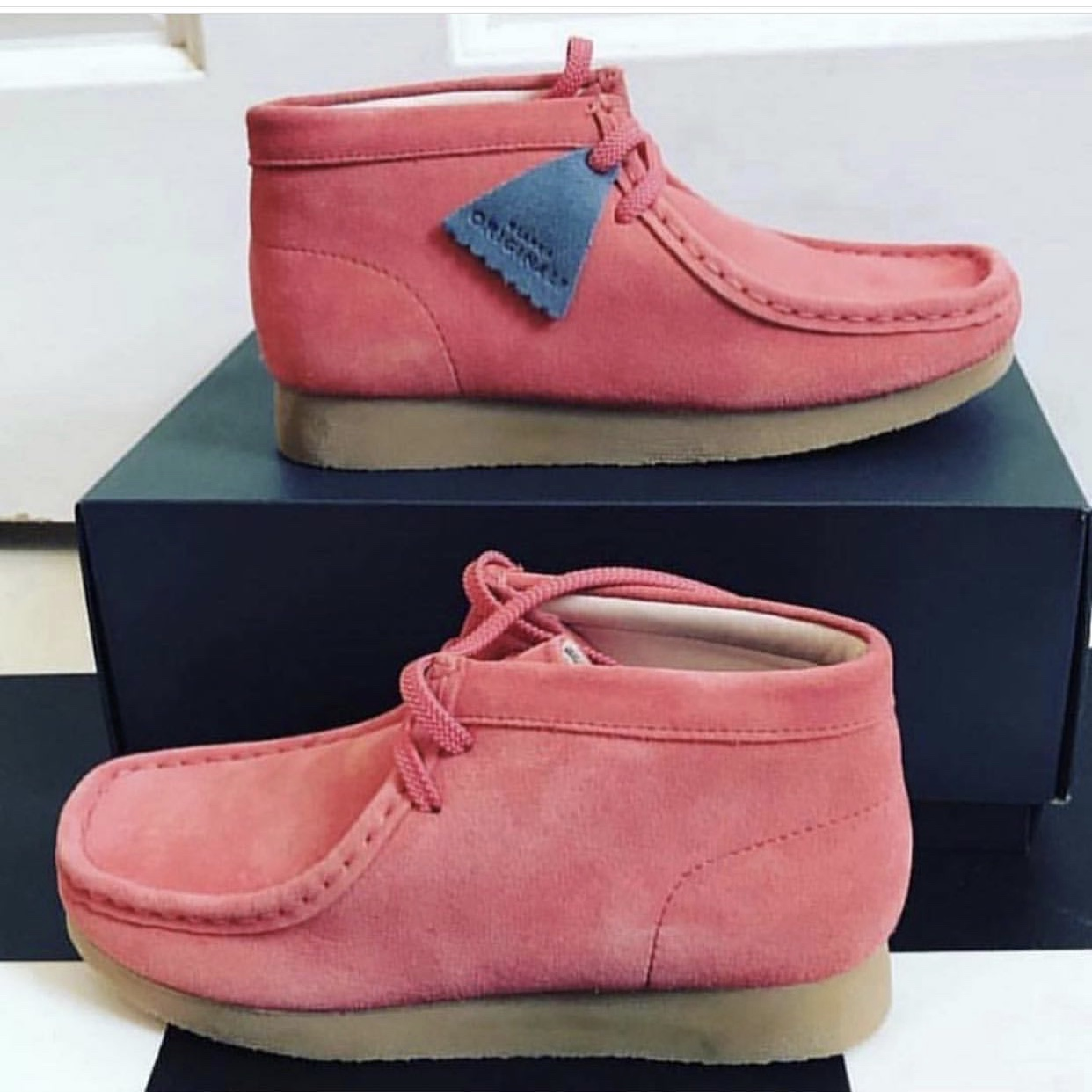 Brand new kids Clarks Wallabees. Bought