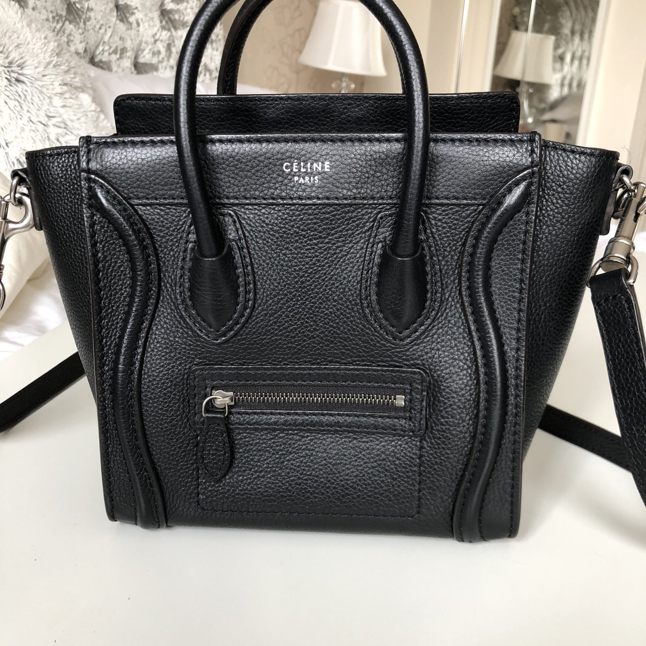 6bf3f14828e7 Céline nano luggage tote 💖 I bought this from Harrods a few - Depop