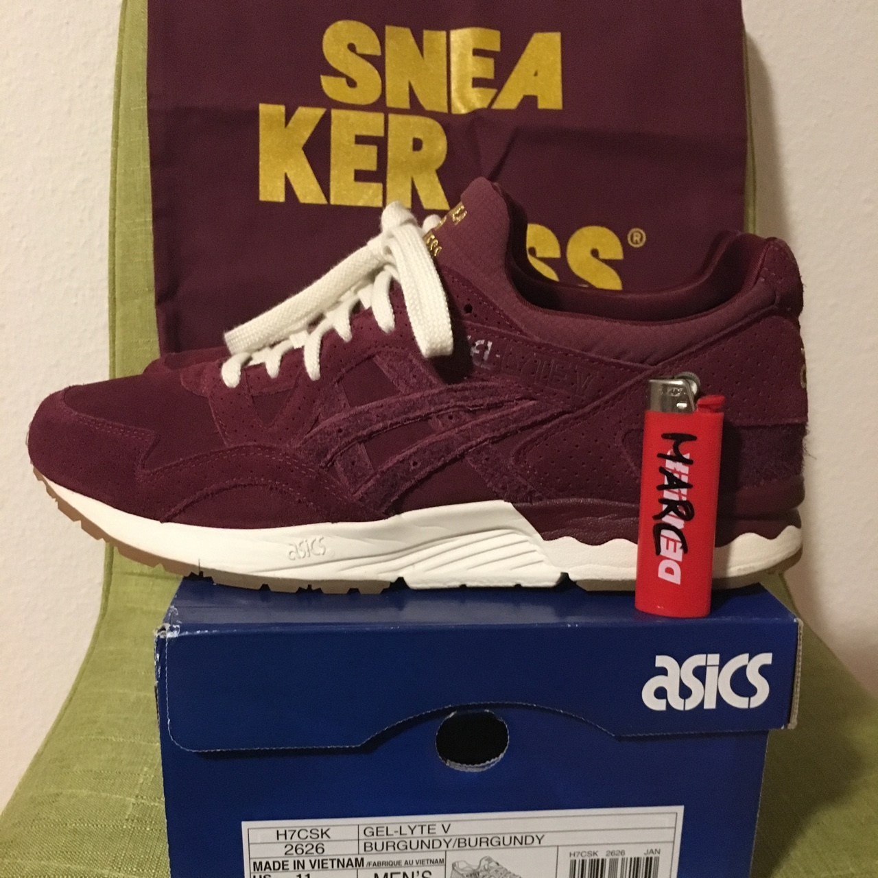 competitive price 37000 27f2a WTS Asics x Sneakerness Us11 condition 9.9/10 price... - Depop